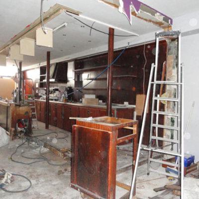 Transformation du café Le Paris en brasserie cosy O'Paris